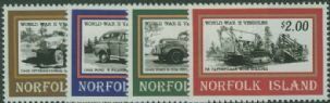 NFI SG596-9 Second World War Vehicles set of 4